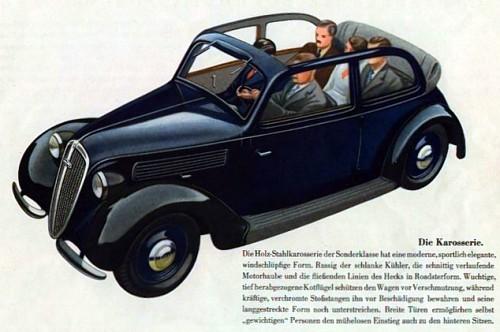 1939 Dkw sonderklasse kabriolim