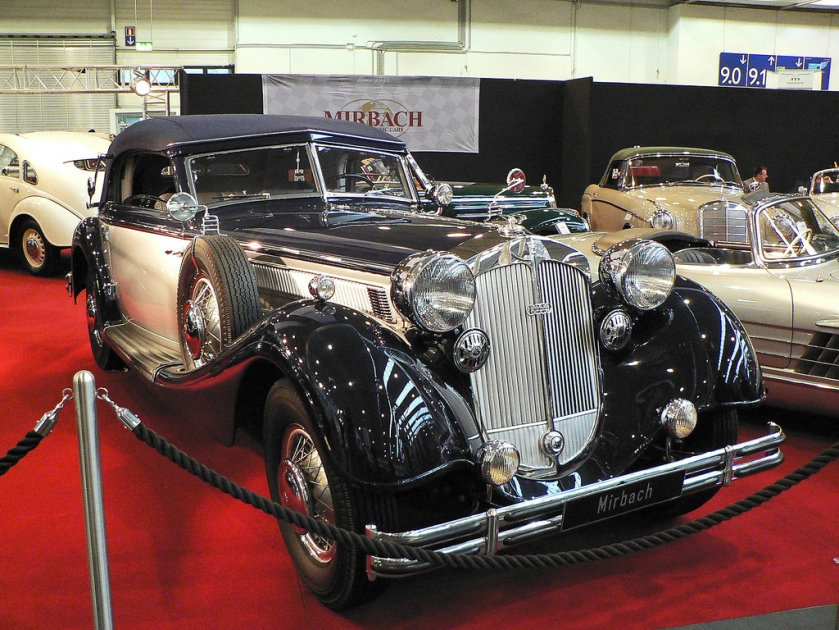 1939 Horch 853A Sport Cabriolet