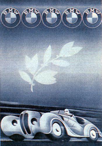 1940 BMW 328 Ad