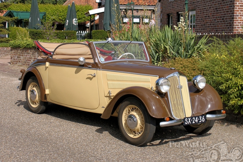 1940 DKW F8 - 2-Sitz Luxus Kabriolet Horch