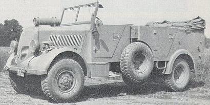1941-43 Phänomen Granit 1500A s.Pkw.