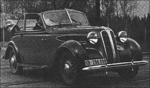 1941 Bmw 321 Cabrio