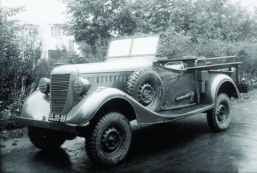 1941 GAZ-61-417, 4x4