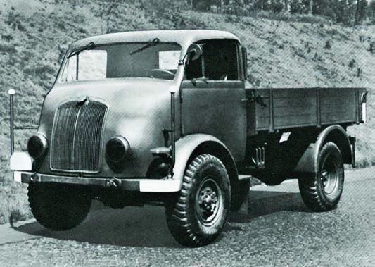 1942 Auto Union-1500А, 4x4