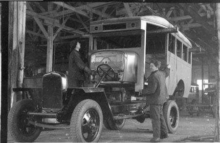 1942 GAZ-03-30 assembly