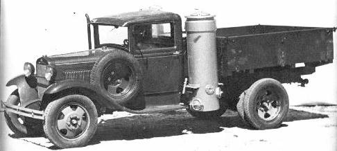 1942 gaz 42 cp generator truck