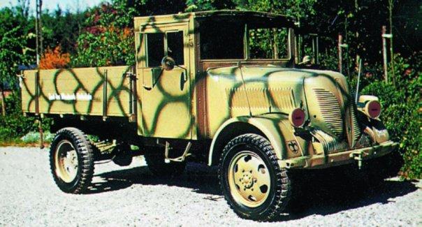 1942 Phanomen Granit-1500А (Granit-27), 4x4