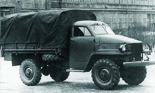 1943 GAZ-63 prototype, 4х4