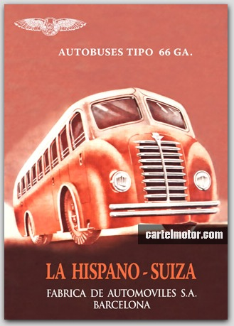 1944 HISPANO SUIZA BUS (PEGASO)