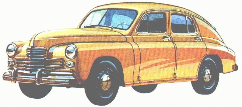 1945 GAZ m20 6cyl
