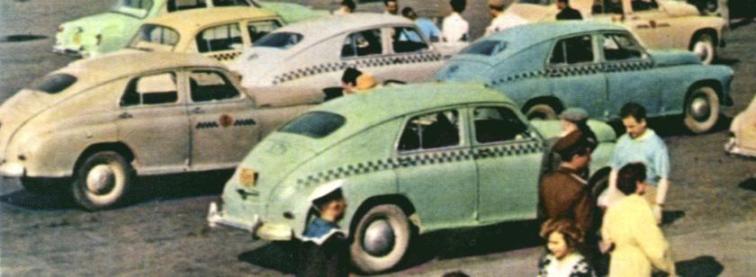 1945 GAZ M20 Taxi's