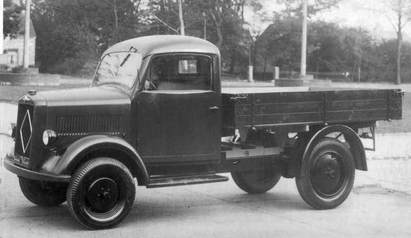 1947-49 Borgward B 1000