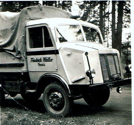 1947-49 Horch H3 Fahrerhausvarianten