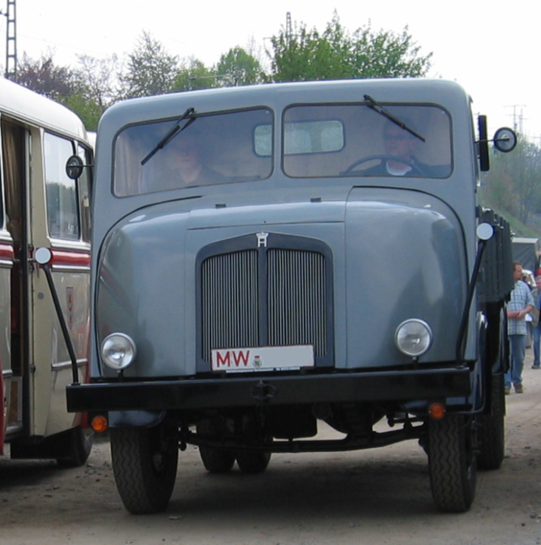 1947-49 Horch-IFA H3 Front