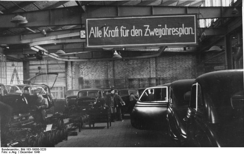 Eisenach, BMW-Werk, Montagehalle