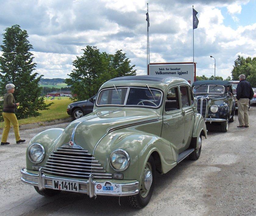 1948 EMW 340 335 and 321 Hamar