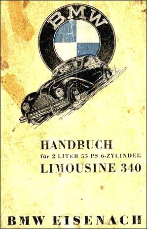1949 Bmw handbuch emw 340