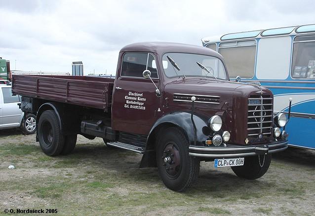 1949 Borgward B 4500 Pritschen-Lkw