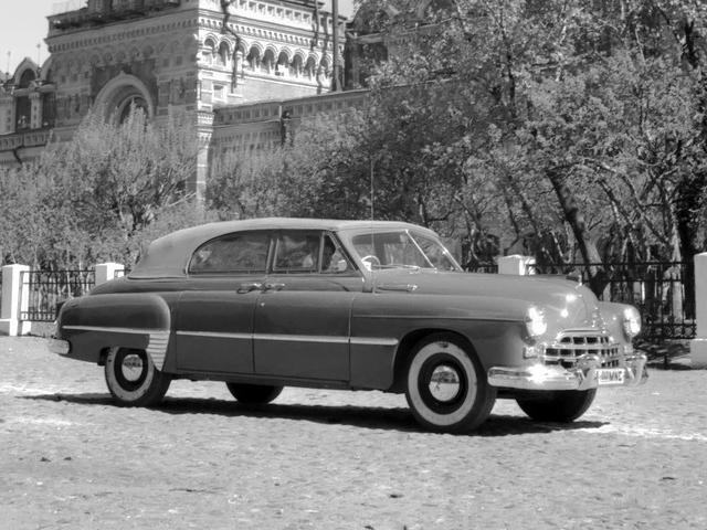1949 GAZ ГАЗ 12А ЗиМ Фаэтон Опытный