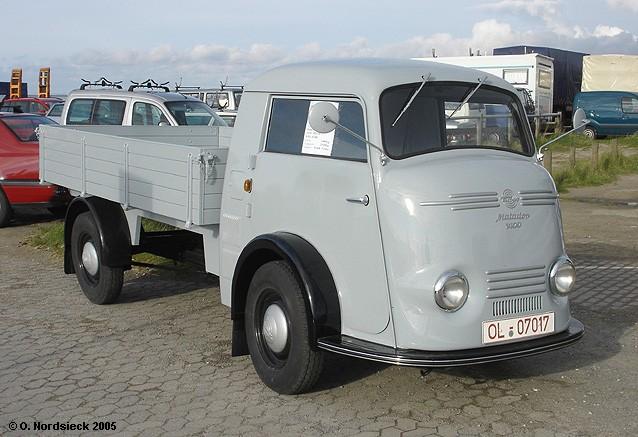 1949 Tempo Matador 1400 Pritsche