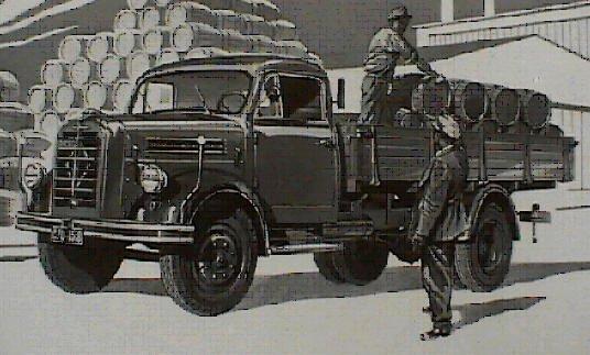 1950-61 Borgward B 4000  B 533, B 544 a