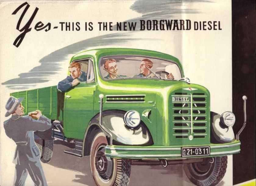 1950-61 Borgward B 4000  B 533, B 544