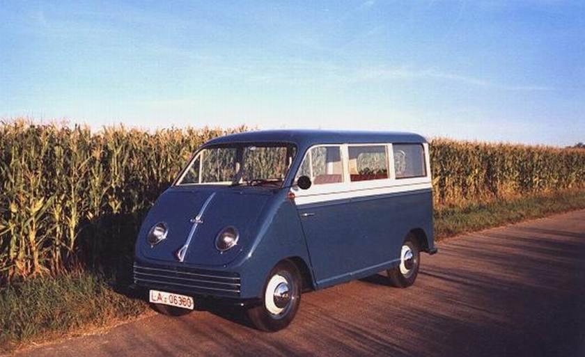 1950 Auto Union   F89L 684cc 2 takt 1050kg