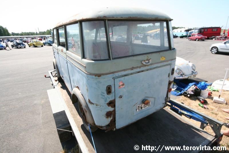 1950 Auto Union op aanhanger