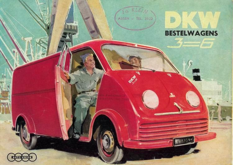 1950 DKW schnellaster