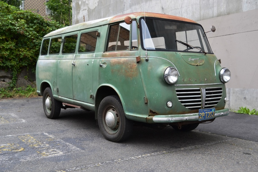 1950 Goliath 1100 express 11 passenger kombi bus