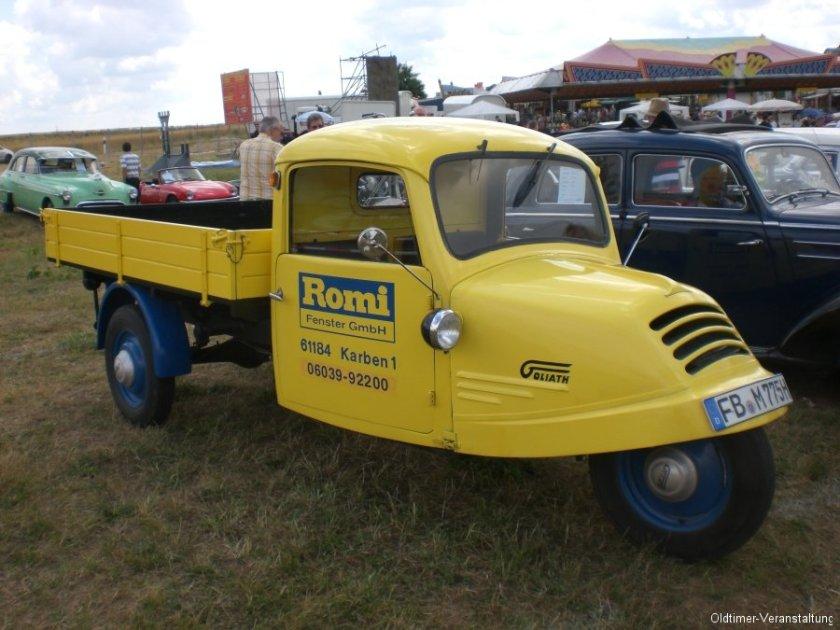 1950 Goliath-Dreirad