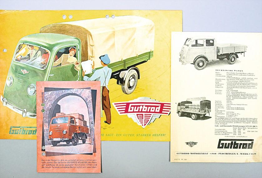 1950 Gutbrod Ad