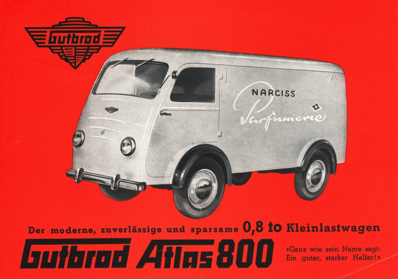 1950 Gutbrod-Atlas-800