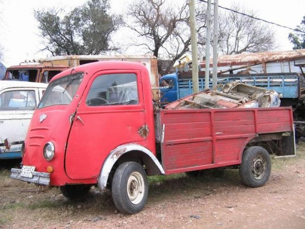 1950 Gutbrod Atlas with VW engine and gear box ex Uruguay