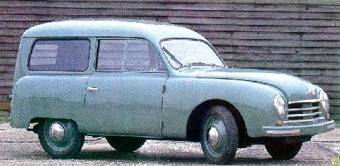 1950 Gutbrod Superior Stationcar Body By Westfalia