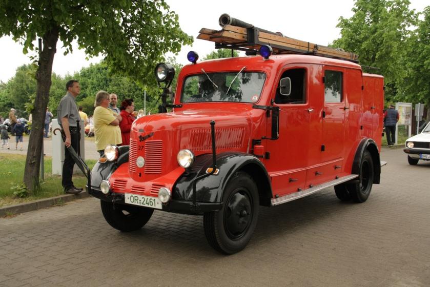 1950 Phänomen Granit 27 Feuerwehr