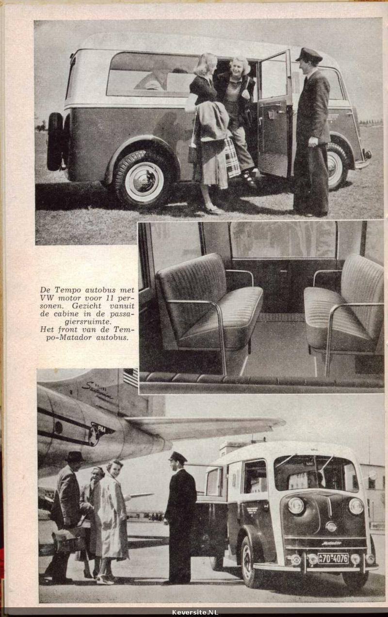 1950 Tempo Matador Ad