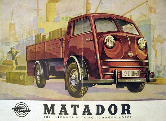 1950 Tempo Matador. Brochure
