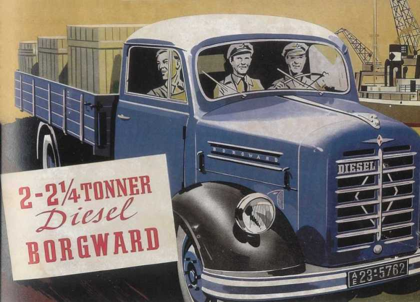 1951-59 Borgward B 2000