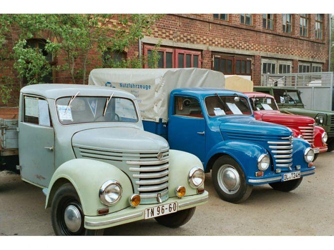 1951 Barkas Treffen Werdau 2003