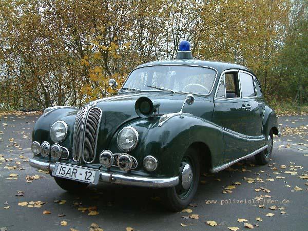 1951 BMW 501 Politie