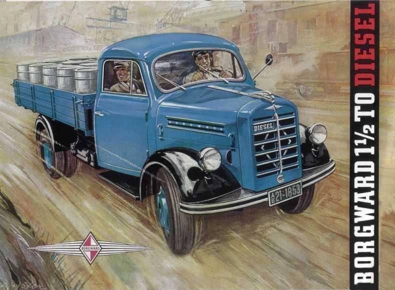 1951 Borgward 1,5 Diesel