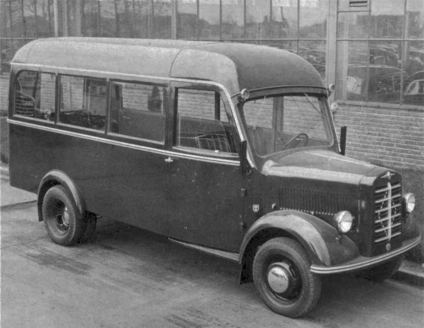 1951 Borgward b1250-bus1