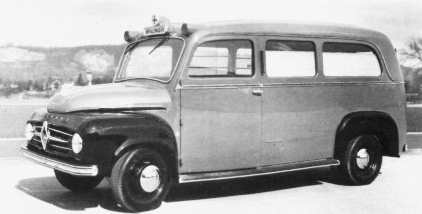 1951 Borgward b1500-krankenwagen
