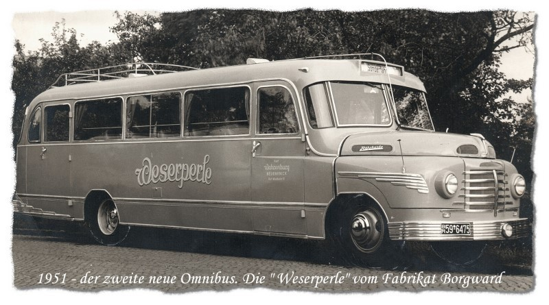 1951 Borgward cache