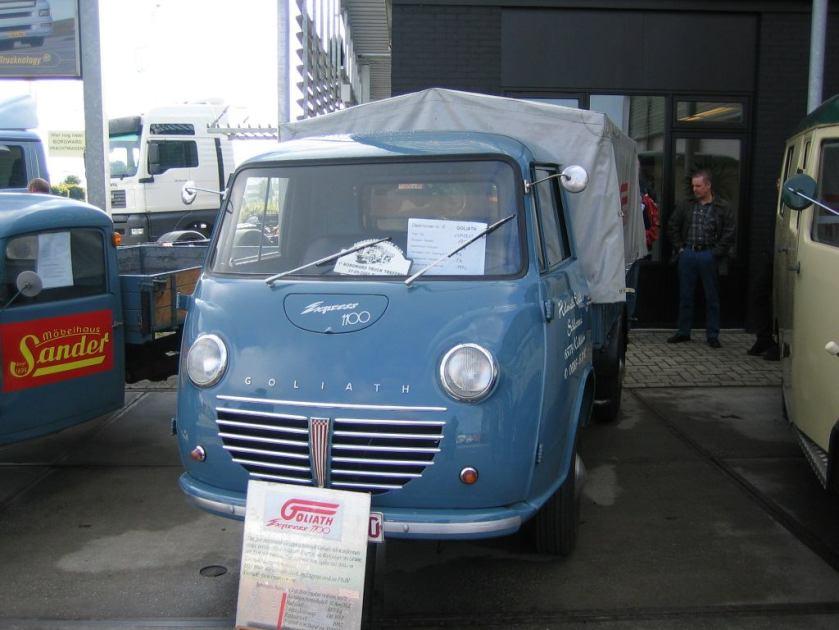 1951 Borgward goliath-express