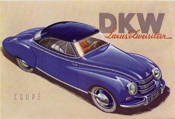 1951 Dkw f89 luxuscoupe