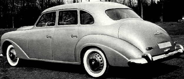1951 emw 343 rear view
