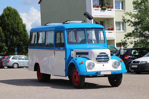 1951 Garant Bus DDR LKW