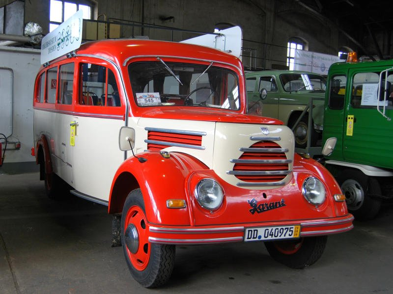 1951 Garant K30-Bus in Dresden
